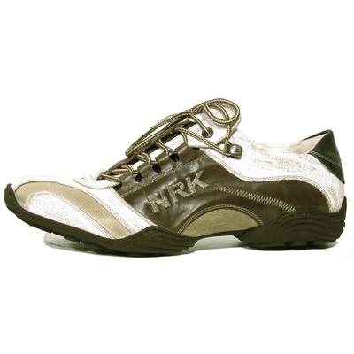 New Rock Boots 8122 Crack Blanco Galia Canada Galia Marron
