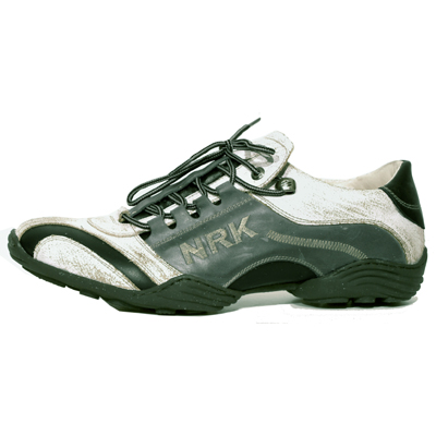 New Rock Boots 8122 Crack Blanco Itali Negro Galia Jeans ABS