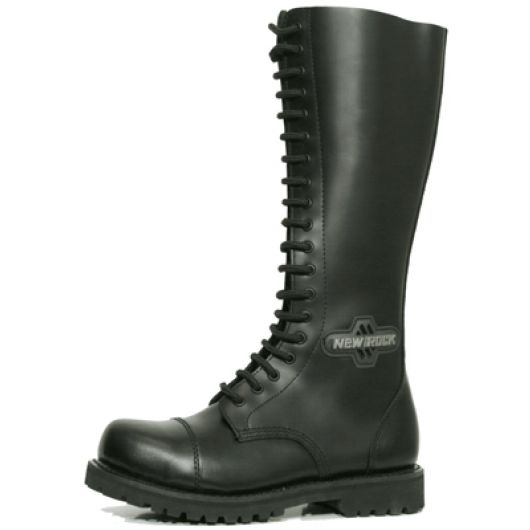 New Rock Boots Mili 3 Antic Negro Good Year Welt