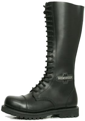 New Rock Boots Mili 3 Antic Negro Good Year Welt