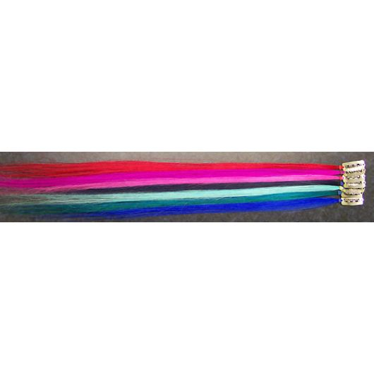 Single Colour Clip In Streak