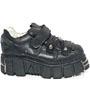 New Rock Boots 131-S1 Tower Negro Acero, Itali y Nomada Negro