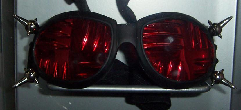 Double UFO Spike Goggles w/plate lenses