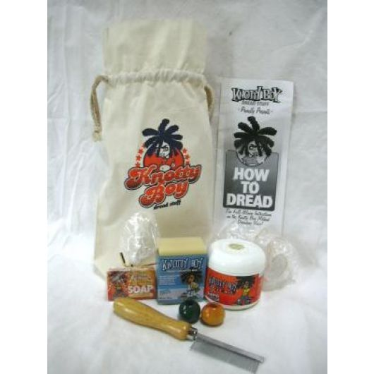 Knotty Boy Dreadlock All In One Complete Dread Kit