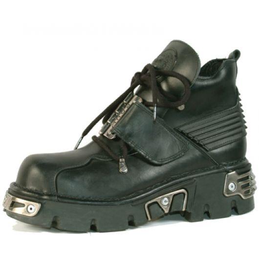 New Rock Boots 925 Itali Negro Reactor Negro Toberas