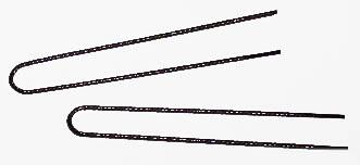 Spiral Pins - pack of 2 dozen