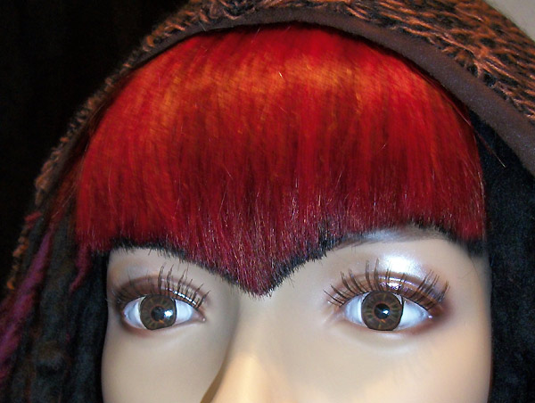 Clip-In Human Hair Fringe / Clip In Bangs