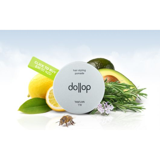 Dollop hair styling pomade 70g tin