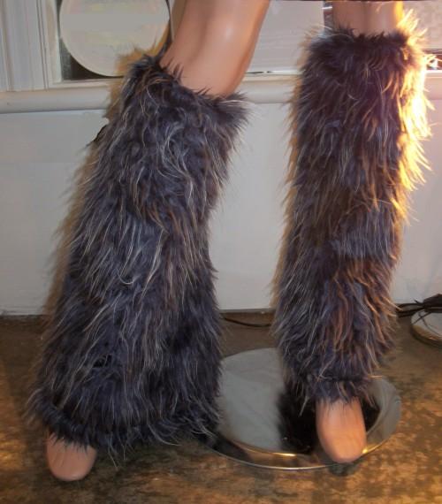 Furry Gaitors / Leg Warmers