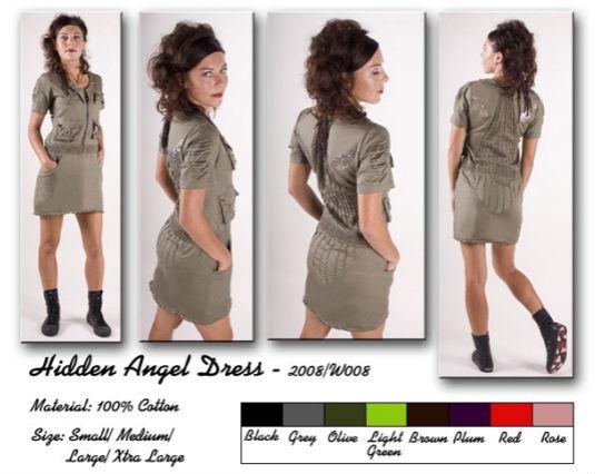 Random Faerie Hidden Angel Dress