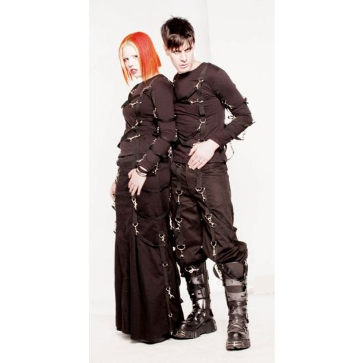 Locks Gear Black Strap Pants