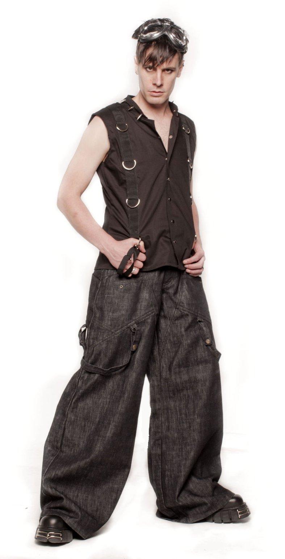 Locks Gear Denim Phat Pants