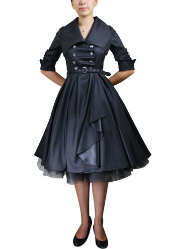 Chicstar Belted Swing Dress