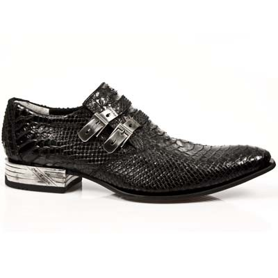 New Rock Shoes M.2246-S3 PITON NEGRO, VIP-1 SUELA ACERO, TACON ACERO
