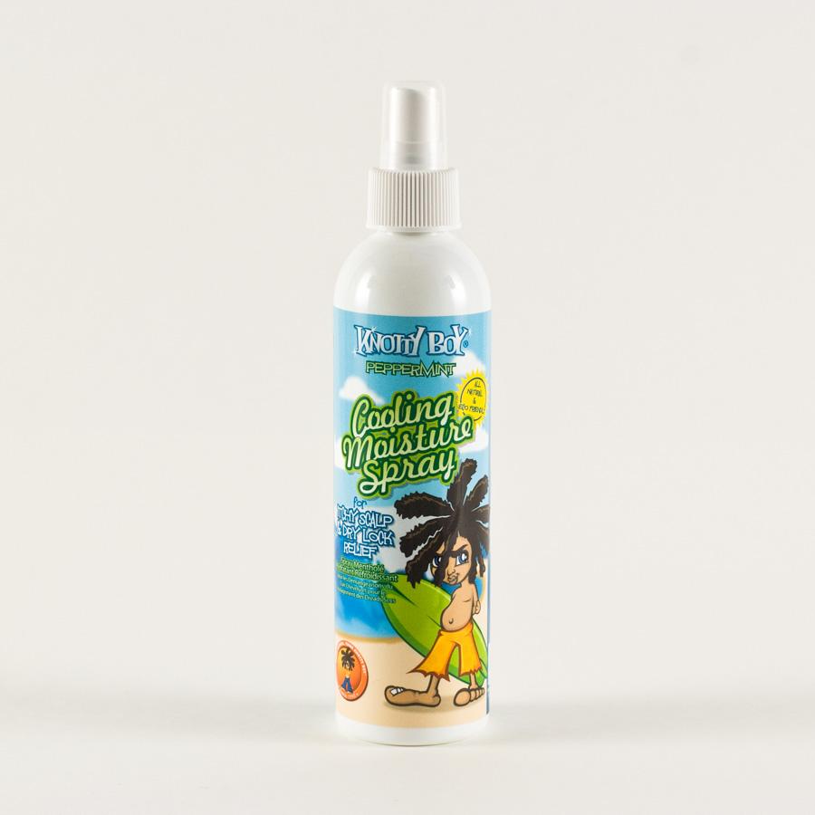 Knotty Boy Peppermint Cooling Moisture Spray 8 fl oz/235 ml