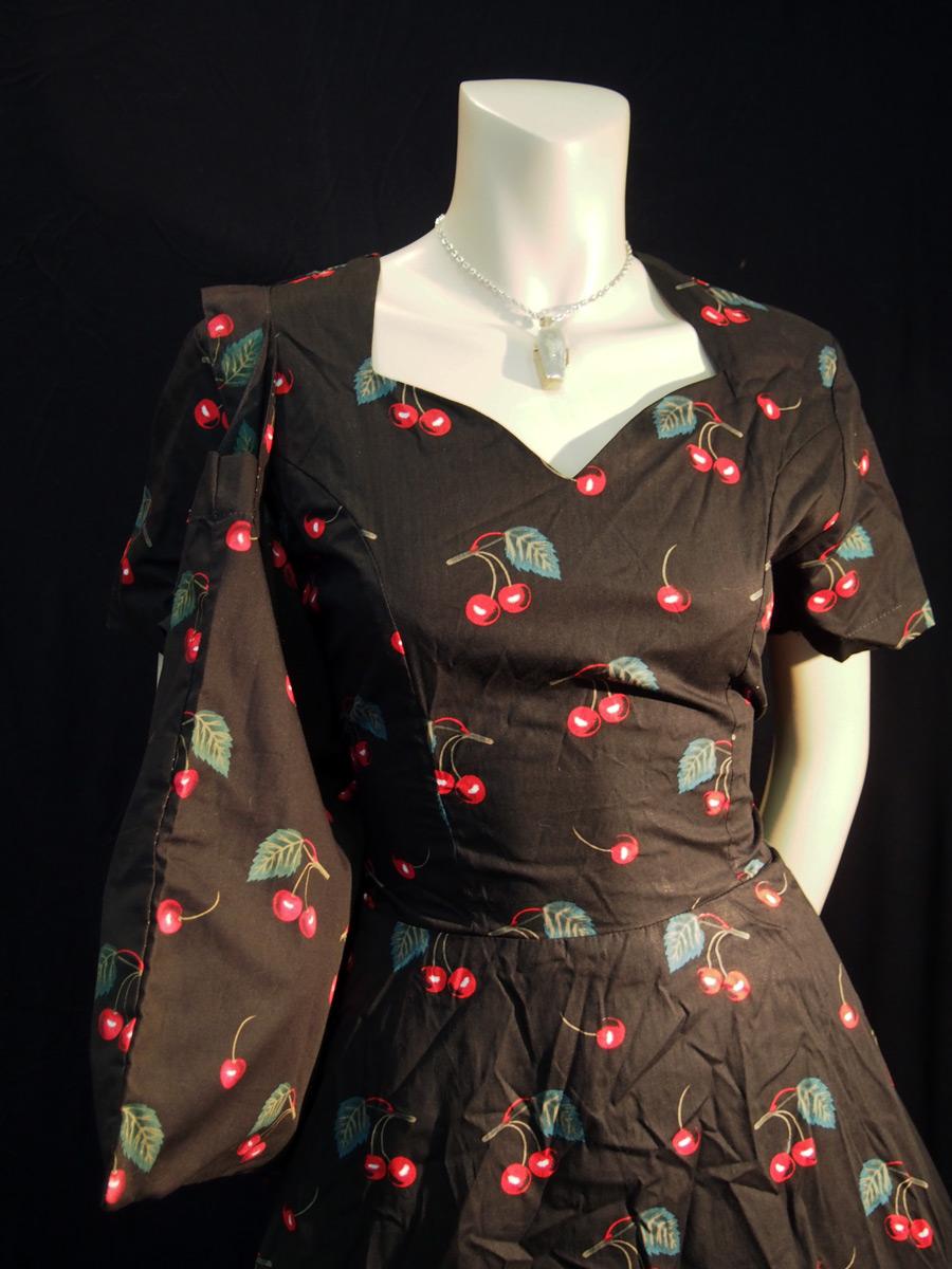 Rockabilly Sweet Cherries Sweetheart Dress