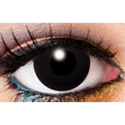 InnoVision Contact Lens- Black Solid Lens