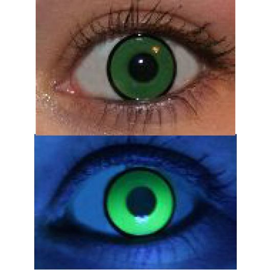 InnoVision Contact Lens- UV Green Lens