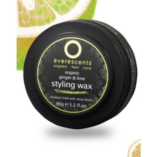 Everescents Organic Ginger Lime Styling Wax 90g